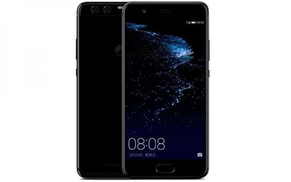 Huawei P10 Plus Bright Black с глянцевой отделкой представлен официально
