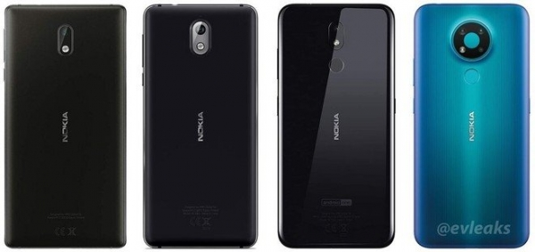 Как выглядит бюджетный Nokia 3.4