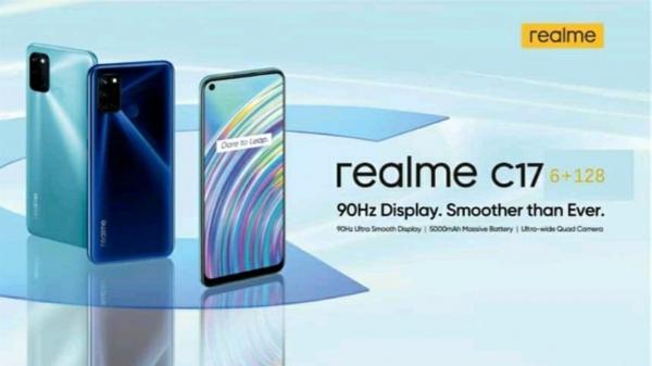 Рассекречены все детали 90-Гц бюджетного Realme C17