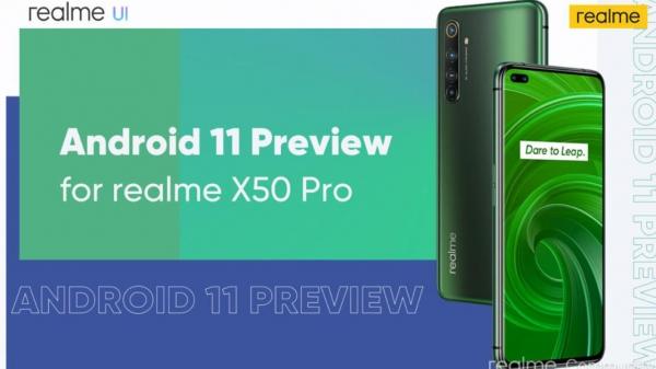 Realme X50 Pro первым получил Android 11
