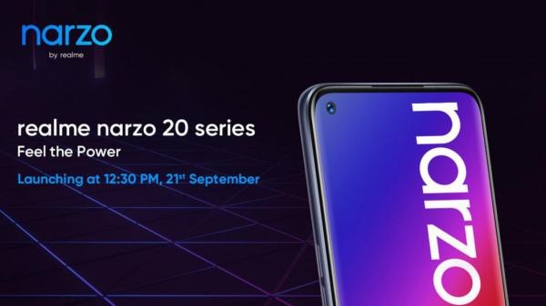 Стали известны все характеристики Realme Narzo 20 Pro