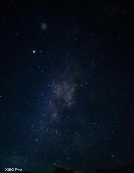 Vivo поделилась лучшим ночным фото на Vivo X50 Pro от пользователей