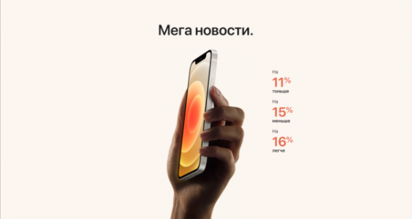 Что нового в линейке iPhone 12?