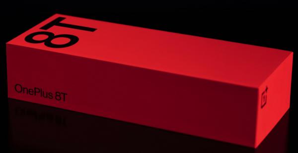 Внешний вид коробки OnePlus 8T и стало известно о ее содержимом