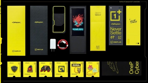 Анонсирован OnePlus 8T CyberPunk 2077 Edition