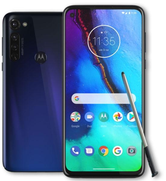 Первые подробности о Motorola Moto G Stylus 2021