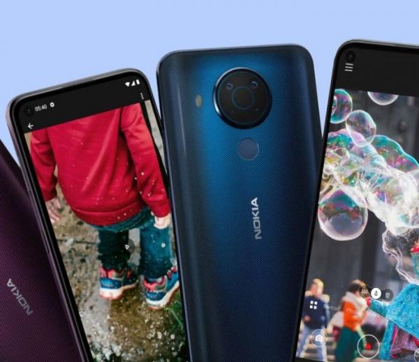 Анонсирован «среднебюджетник» Nokia 5.4