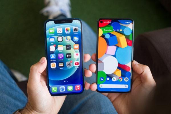 iPhone 12 против Pixel 5: Битва года?