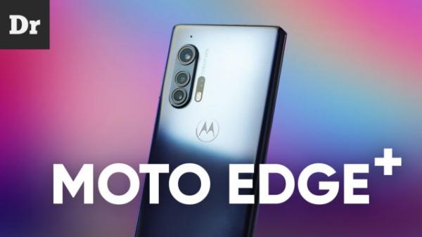 Moto Edge+: Обзор смартфона