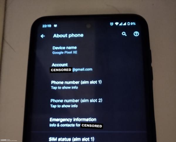 Неизвестный смартфон Pixel появился в сети. Фото