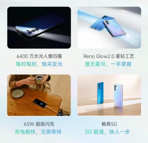 OPPO показала дизайн и ключевые особенности Reno 5 Pro