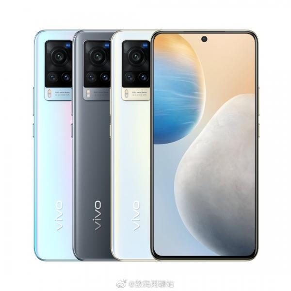 Vivo X60 и X60 Pro: утечка пресс-фото и деталей об экранах