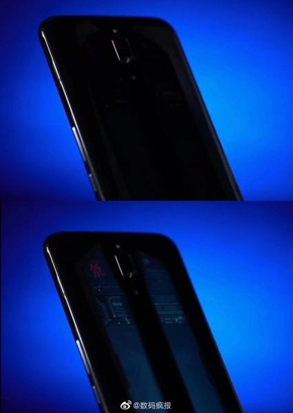 ZTE Red Magic: геймерский смартфон с крышкой-хамелеоном