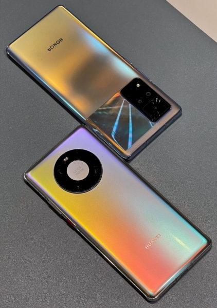 Honor V40 и Huawei Mate 40 Pro показался на видео