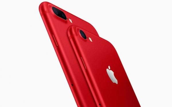 Компания Apple рассекретила новый красный iPhone (RED)
