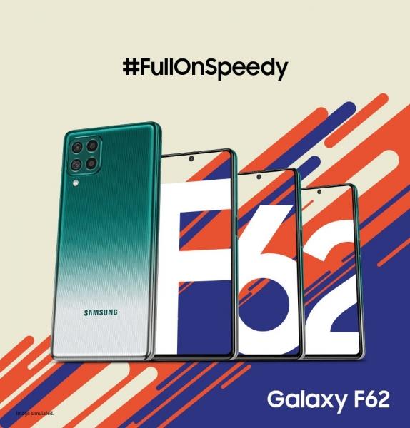 Анонс Samsung Galaxy F62 с емкостной батареей