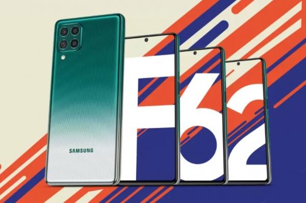 Дата анонса и некоторые детали Samsung Galaxy F62