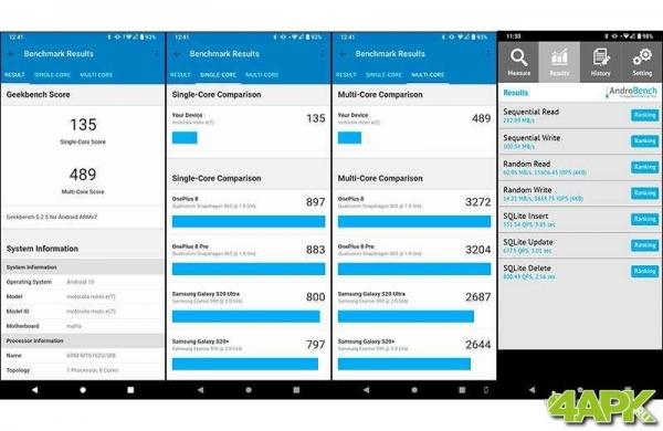 Обзор Motorola Moto E7: что может обычный смартфон?