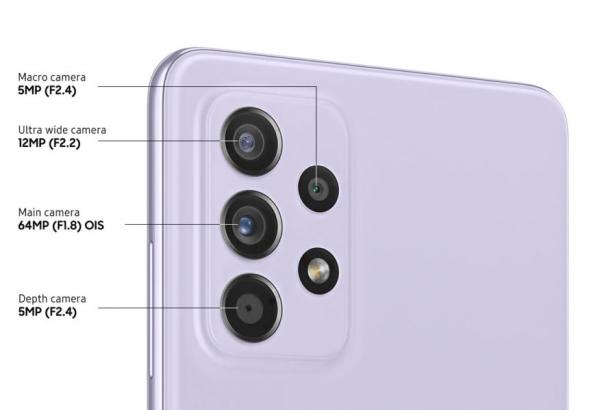 Анонс Samsung Galaxy A52 –  середнячок с OIS и IP67
