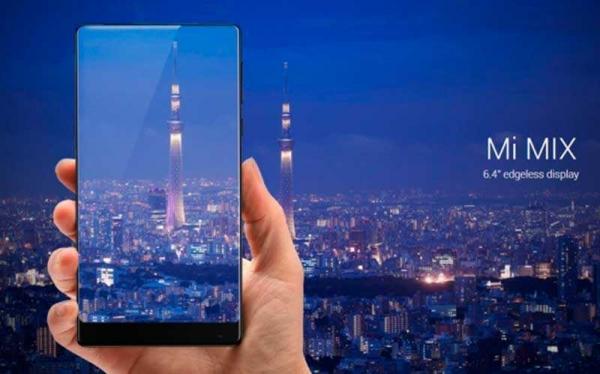 Анонс Xiaomi Mi MIX: 6,4-дюймовый керамический монстр с отношением экрана к корпусу 91,3%