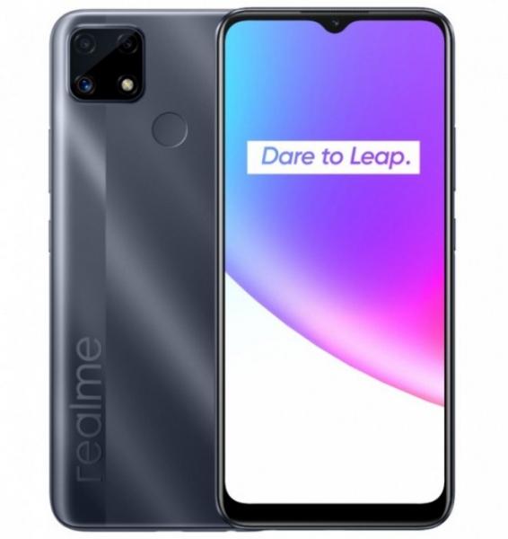 Анонсирован Realme C25 с емкостной батареей