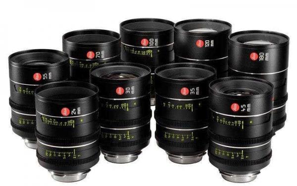 Leica выпускает широкоформатные кинообъективы серии Thalia