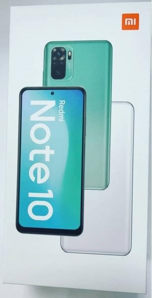 Распаковка и живые фотографии Xiaomi Redmi Note 10