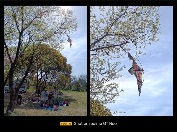Realme показала первые снимки на Realme GT Neo