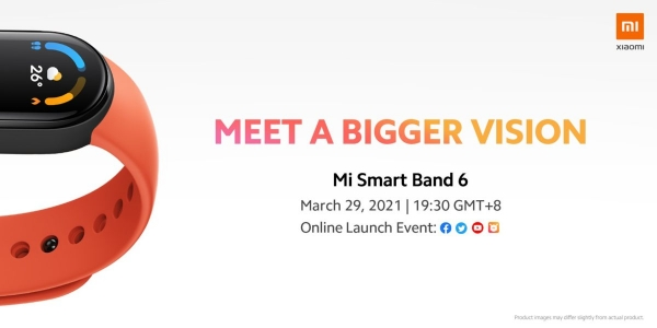 Xiaomi подтвердила анонс Mi Band 6