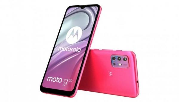 Анонсирован Moto G20 с емкостной батарейкой и квадрокамерой