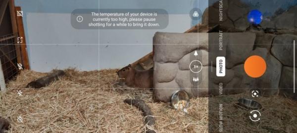 OnePlus 9 Pro перегревается при использовании камеры