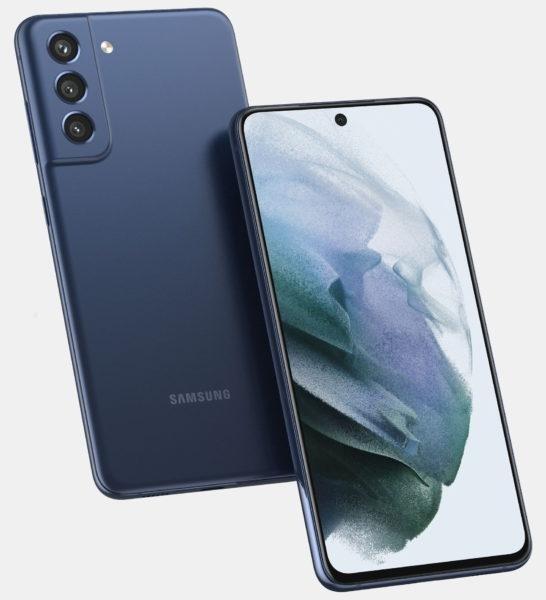 Samsung Galaxy S21 FE впервые показался на рендерах