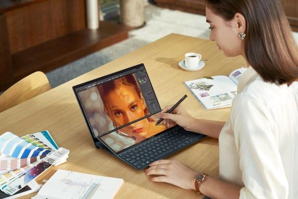 ASUS Zenbook Duo 14: Ноутбук с двумя дисплеями. Обзор