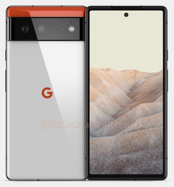 Дизайн Google Pixel 6 и отличия от Pixel 6 Pro