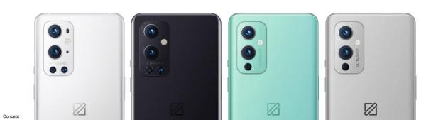 Рендеры отменённых расцветок OnePlus 9 и OnePlus 9 Pro