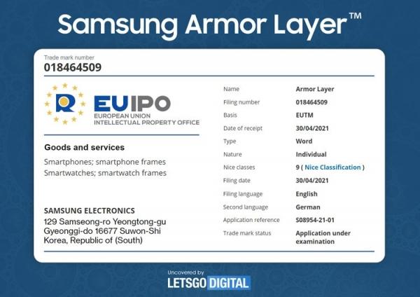 Samsung повысит прочность для смартфонов с гибким дисплеем