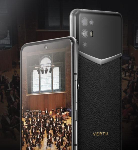 Анонс Vertu iVertu 5G: самый мощный люксовый смартфон