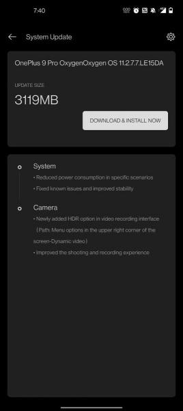 OnePlus 9 и 9 Pro: обновление улучшит камеры и автономность