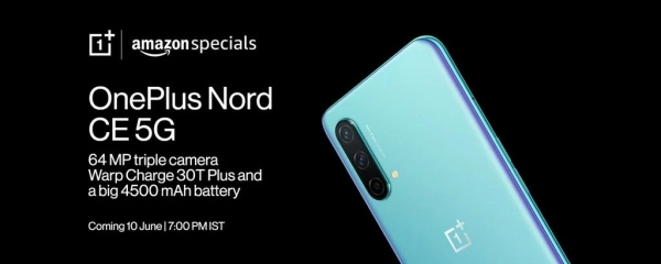 OnePlus Nord CE 5G: Amazon раскрыл еще одну особенность