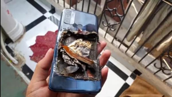 OPPO A53 взорвался у владельца в кармане