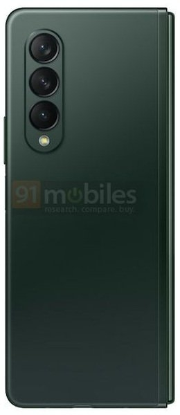 Samsung Galaxy Z Fold 3: пресс-фото в трех расцветках
