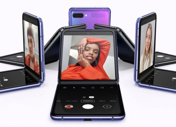 Компания Samsung готовит третий складной смартфон