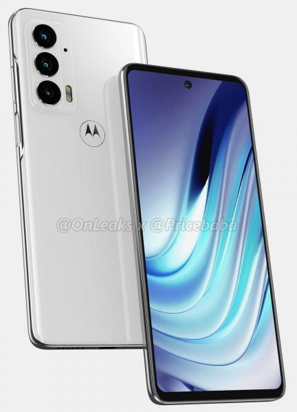 Motorola Edge 20: много новых деталей