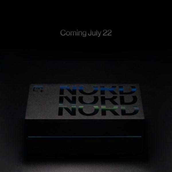Подтверждена дата анонса и показана коробка OnePlus Nord 2
