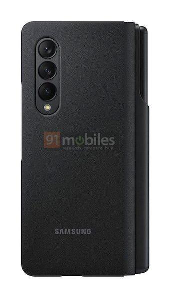 Пресс-фото Samsung Galaxy Z Fold 3 и S Pen Pro