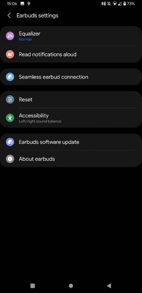 Samsung Galaxy Buds 2: скриншоты с настройками и пять расцветок