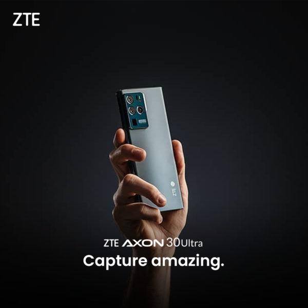 ZTE Axon 30 Ultra с основной камерой на 200 Мп — скоро в продаже
