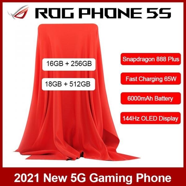 ASUS выпустит ROG Phone 5S – более мощная версия флагмана