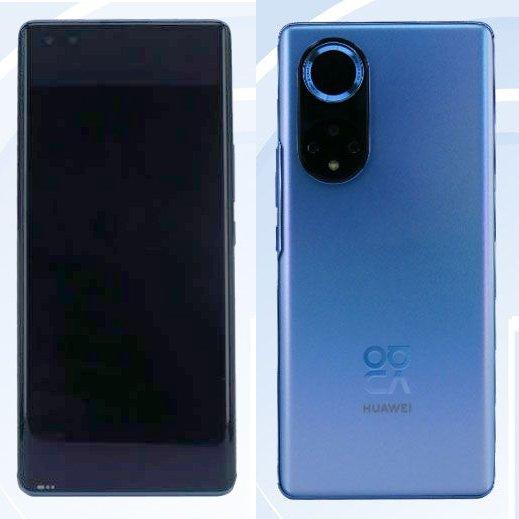 Дизайн Huawei Nova 9 был раскрыт регулятором