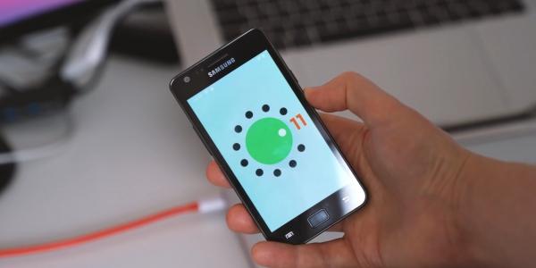 На Samsung Galaxy S2 смогли запустить Android 11